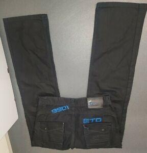 """Eto 9901 Mens Fabulous Jeans SIZE 30""""W/32""""Leg"""