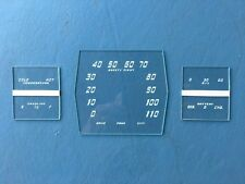 1938 Cadillac/LaSalle Speedometer and Gauge Glass set