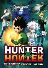 DVD Hunter X Hunter Season 1 Episode 1-62 End With English Dubbed Japan Anime