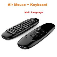 C120  6-Axis Gyro 2.4G Mini Wireless Air Mouse+Keyboard For Game Android Windows