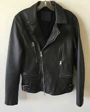 """All Saints Mens Sheep Leather Biker jacket """"DARIO"""" XS Extra Small $670 SOLD OUT"""