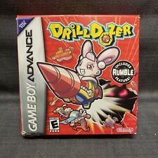 Drill Dozer (Nintendo Game Boy Advance, 2006) Video Game CIB