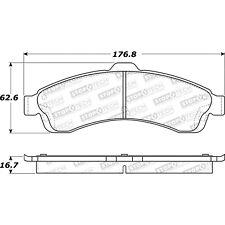Disc Brake Pad Set-Street Brake Pads Front Stoptech 308.08820