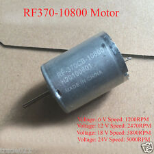 1PCS New RF370-10800 Motor DC6-24V 1200RPM-5000RPM High Torque Motor