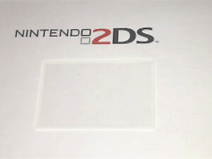 Nintendo 2DS Screen Cover LCD Lens Clear Part New Fit Great ! White
