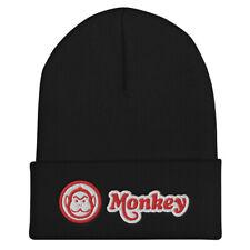 Honda Monkey Bike Embroidered Cuffed Beanie Winter Stocking Hat