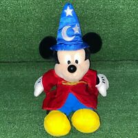 Disney Pal Mickey Mouse Talking Interactive Fantasia Sorcerer Edition Plush