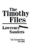 The Timothy Files, Lawrence Sanders, 0399132619, Book, Acceptable
