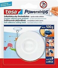 Tesa Powerstrips Deckenhaken, weiß, 1 Stück