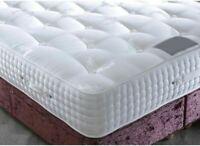 3000 Pocket Sprung Mattress Santorini Memory Foam Topped Luxury Hypo-Allergenic