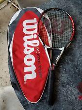 Wilson K Factor Arophite Black Kontrol Tennis Racquet K FIVE 4 1/4 Grip W/Cover