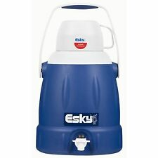 Esky ICE KING JUG WITH CUP+TAP 5L, Polyurethane Foam,Soft Handle BLUE*Aust Brand