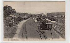 CPA - MONTARGIS - Interieur de la Gare: France railway postcard by LL (C27523)