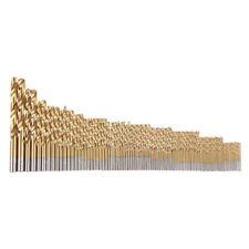 99pc Hss Twist Drill Bits Titanium Coated Tools 1.5mm-10mm High-Speed Steel Set