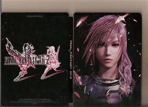 FINAL FANTASY XIII - 2 XBOX 360 / X BOX 360 STEELBOOK VERSION