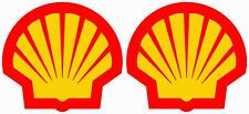 Shell Oil Racing Decal Gas Pump Train Station Car truck Bumper Window Sticker