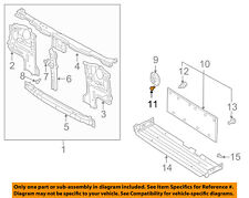 NISSAN OEM Radiator Core Support-Seal Clip 0155300291