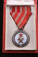Hungary Hungarian 1953 Medal Labor Merit Rakosi era Order Soviet Communist Box