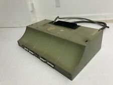 Vintage General Electric Range Hood stove vent Avocado Green mid century modern