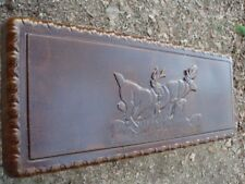 Concrete Bench Mold Deer Bench Mold Top and 2 Large Scroll Leg Molds