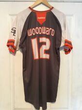Miami Hurricanes Game Used Marucci Jersey #12 Woodward SBA