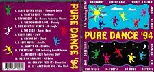 Pure Dance '94 / 1994 cd album -Kim Wild,SWV,Obsession,Twenty 4 Seven,M People