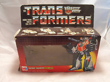 Transformadores Autobot figura de generación 1, G1 Wheeljack, Raro Mb Caja Vacía,