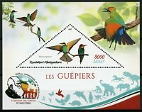 Madagascar 2019 MNH Bee-Eaters European Bee-Eater 1v S/S IV Birds on Stamps