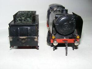 GA, Fleischmann, GFN, Dampflok mit Tender 325, mit E-Motor, Spur 0, top Zustand