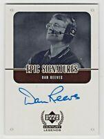 1999 Upper Deck Century Legends Epic Signatures Dan Reeves Dallas Cowboys