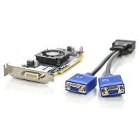 HP AMD Radeon HD 6350 512MB DDR3 LP Video Card 637995-001 w/ DMS-59 to Dual VGA