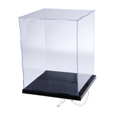 Acrylic Display Show Case Dustproof Box with LED Lights for MG 1:100 Model