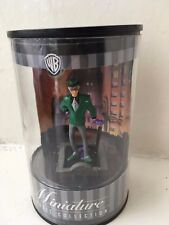WARNER BROS MINIATURE CLASSIC COLLECTION ANIMATED THE RIDDLER FIGURE BATMAN