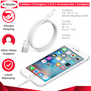 USB Charging Phone Cable Data Cord Charger For iPhone 12 11 X 8 7 6 Plus Pro Max