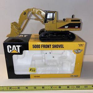 F8-71 CATERPILLAR CAT 5080 FRONT SHOVEL EXCAVATOR - 1:50 SCALE DIE-CAST -box