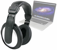 Lightweight Portable, Stereo OverEar Headphones For Apple MacBook Pro / Air