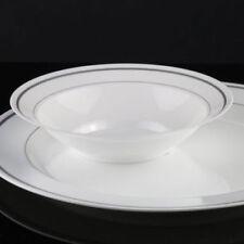 Decoración y menaje de plástico de color principal blanco para todas las ocasiones para mesas de fiesta