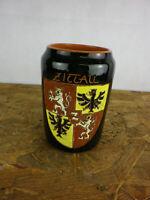 Bierkrug Bierseidel mit Wappen Zittau Ton 0,5 Liter  bk16