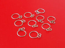 KAWASAKI S/H1/H2 FUEL LINE CLAMPS HOSE CLAMP-BUYING TOTAL 10 CLAMPS-9MM OEM