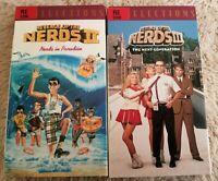 Revenge of the Nerds 2 & 3 VHS Lot of 2