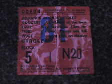 STATUS QUO - Hammersmith Odeon London 21/DEC/1986 - Used Ticket stub