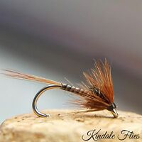 Quill Cruncher size 12 (Set of 3) Fly Fishing Flies Trout