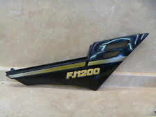 Yamaha FJ1200 FJ 1200 Used Right Side Cover 1989 #T-BX2
