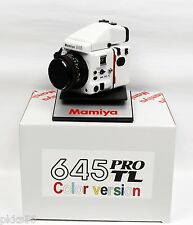 Mamiya 645 Pro Tl Special Ultra-Rare Edition ( Color Set ) Pearl White !