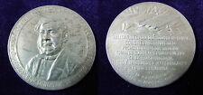 Argentine Constante Rossi Silver Medal for Doctor Pastor Obligado dated 1918
