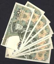 POLAND  Lot of 10 Notes 50 Zlotych 1988  P 142