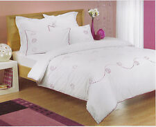 KAITLYN King Size Sequined Doona/Quilt Cover Set - 225TC BNIPack