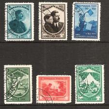 ROMANIA # B 31-6 Used ROYALTY & BOY SCOUTS
