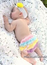 Rainbow Pettiskirt Ruffles Baby Panties Bloomers 6M-3Y