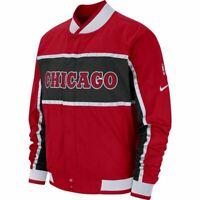 Nike NBA Chicago Bulls Courtside Jacket Men's University Red Outwear Activewear